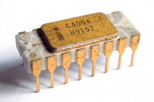 Intels 4004 prosessor fra 1971
