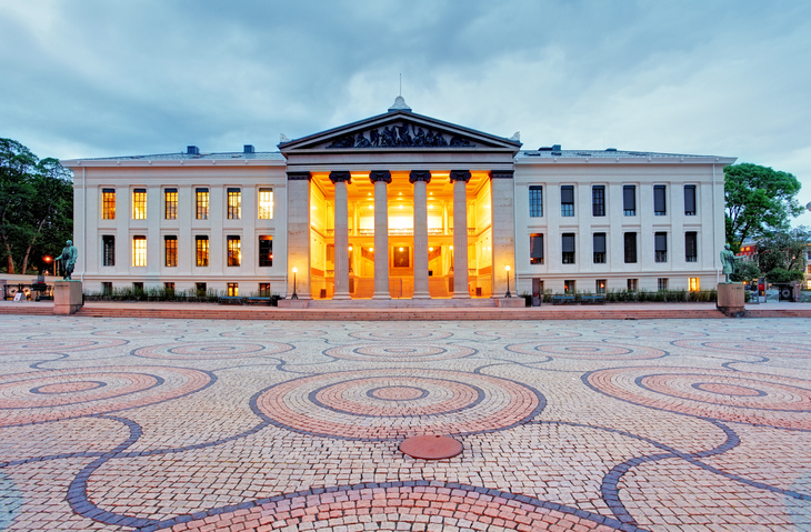 Universitetet i Oslo (foto: Tomas Sereda)