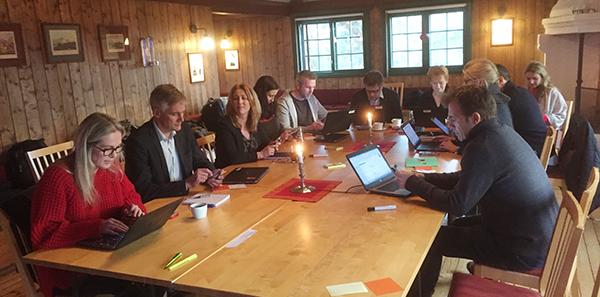 Ledergruppa i Innovasjon Norge