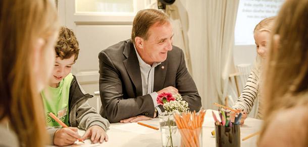 Statsminister Stefan Löfven. Foto: Silvia Adlesic Holmgren