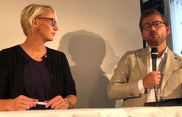 Maria Aasen-Svensrud og Sveinung Rotevatn