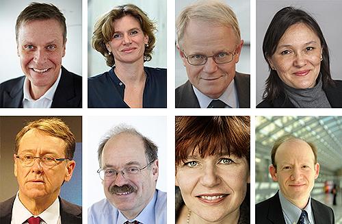 Bilder av medlemmene i utvalget